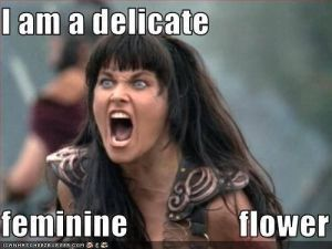 IM ADELICATE FEMININE FLOWERRR