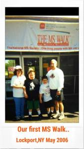 joey Mara first ms walk